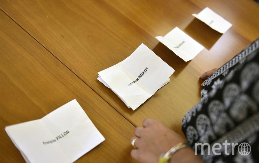 Во Франции завершился первый тур президентских выборов. Фото AFP