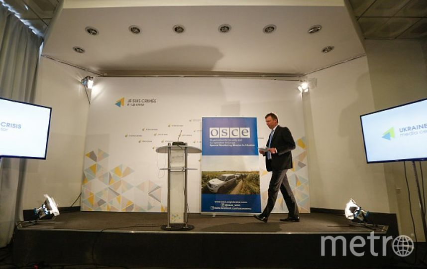 Представитель ОБСЕ. Фото Getty