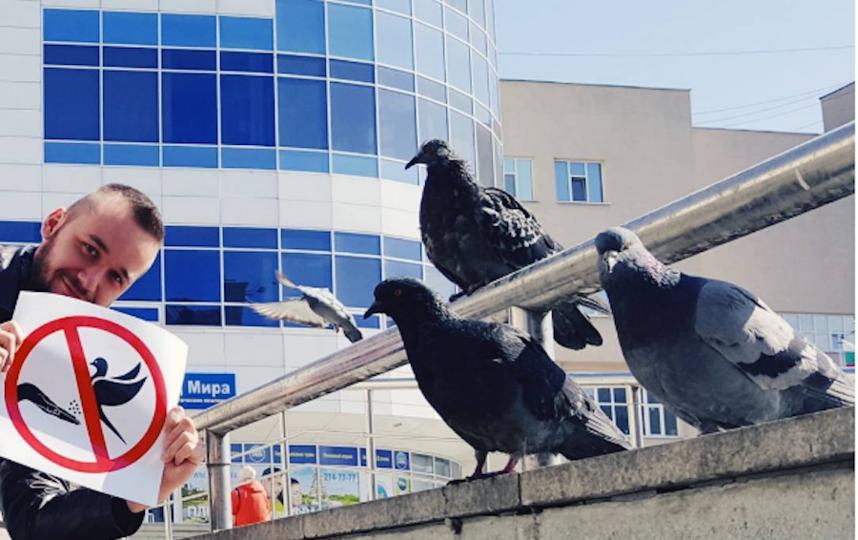 Анти-голубем вмузее истории Екатеринбурга будет работать баскетболист