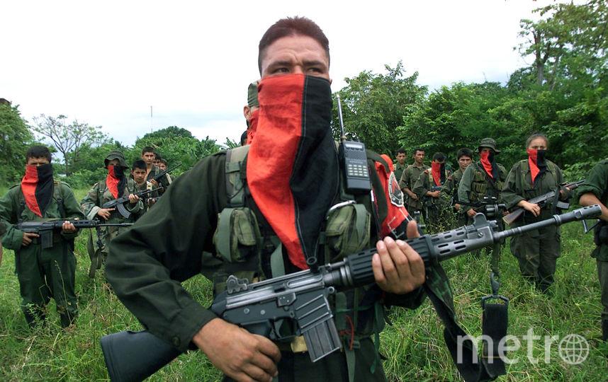 Повстанцы Армии национального освобождения (АНО). Фото Getty