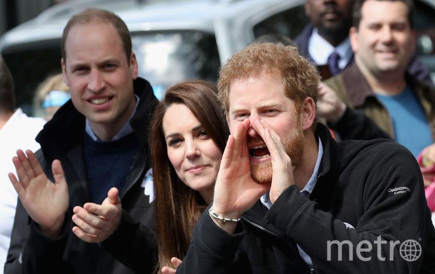 Трогательные фото Кейт Миддлтон, принцев Гарри и Уильяма появились в Сети. Фото Getty