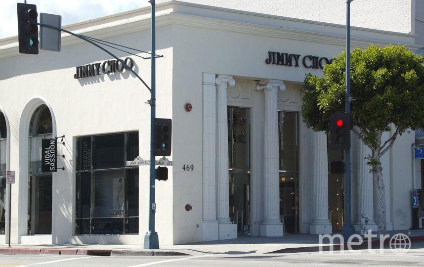 Магазин Jimmy Choo в Беверли Хиллз, Калифорния (США). Фото Getty