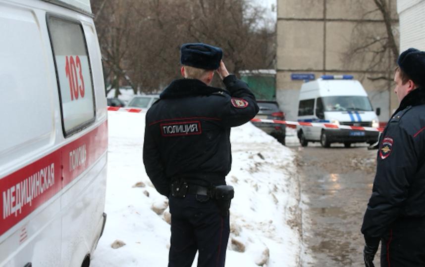 Скорая помощь и полиция. Фото Виталий Белоусов., РИА Новости