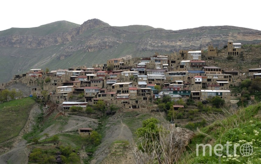 Одно из горных селений Дагестана (архивное фото). Фото РИА Новости