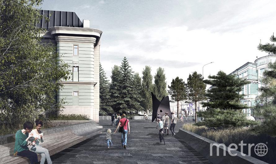 Проход от метро к музею станет уютней. Фото mos.ru