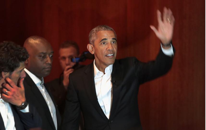 Обама выступил сречью перед студентами Чикагского университета