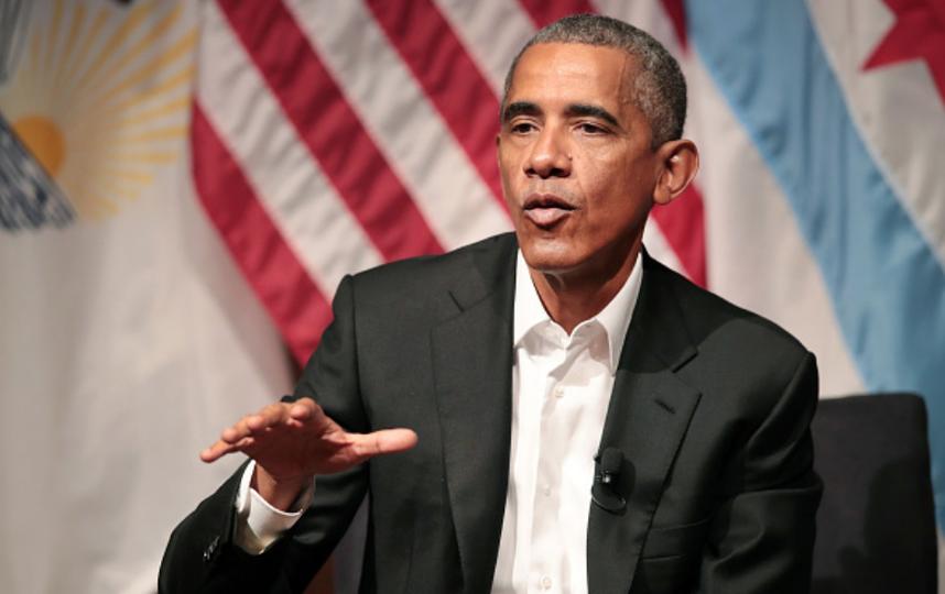 Обама впервые появился на публике после передачи полномочий Трампу. Фото Getty