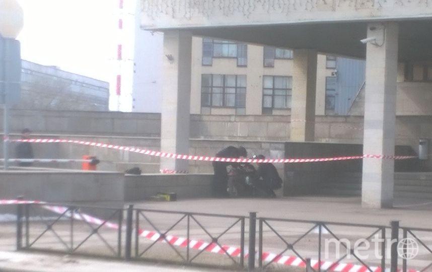 В Петербурге эвакуировали БЦ Радуга. Фото Анастасия Лаптёнок