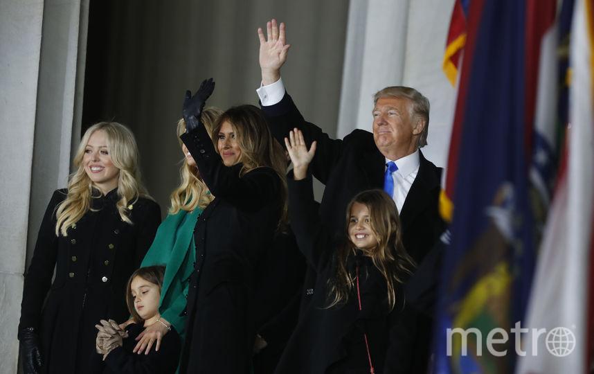 Семья Дональда Трампа. Фото Getty
