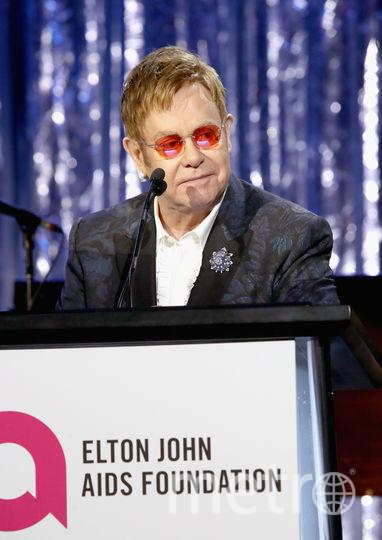 Элтон Джон госпитализирован с вирусной инфекцией. Фото Getty