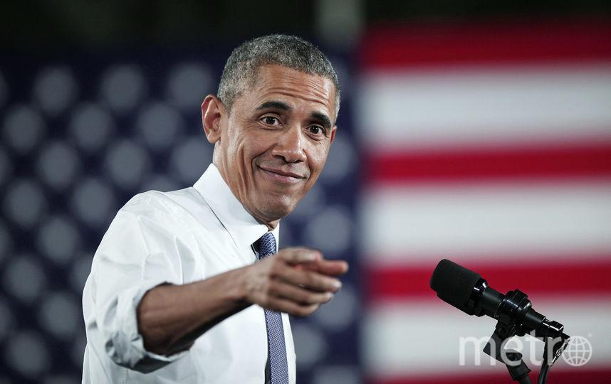 44-й президент США Барак Обама. Фото Getty