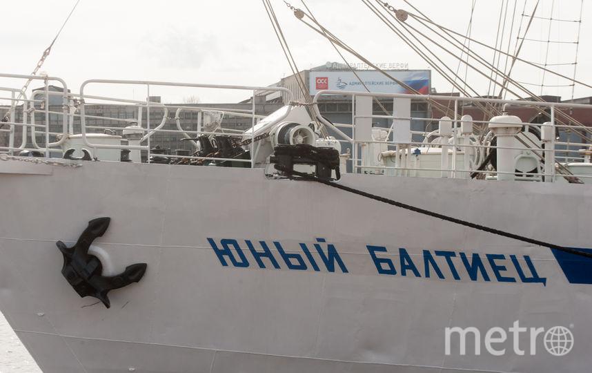 Парусник «Юный Балтиец» отправился вШотландию изПетербурга