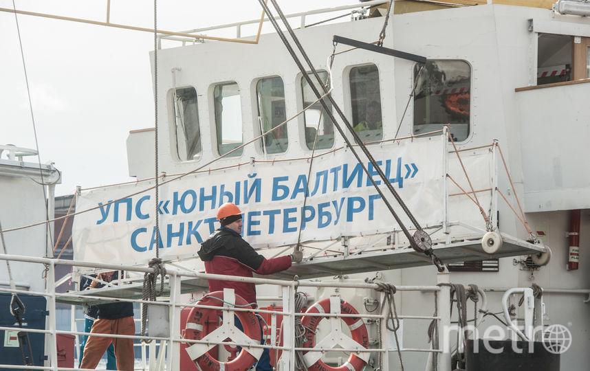 """Парусник """"Юный Балтиец"""" отправился в Шотландию из Петербурга. Фото Святослав Акимов., """"Metro"""""""