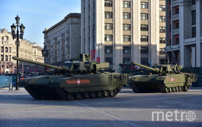 Вцентральной части Москвы ограничат движение из-за репетиции парада
