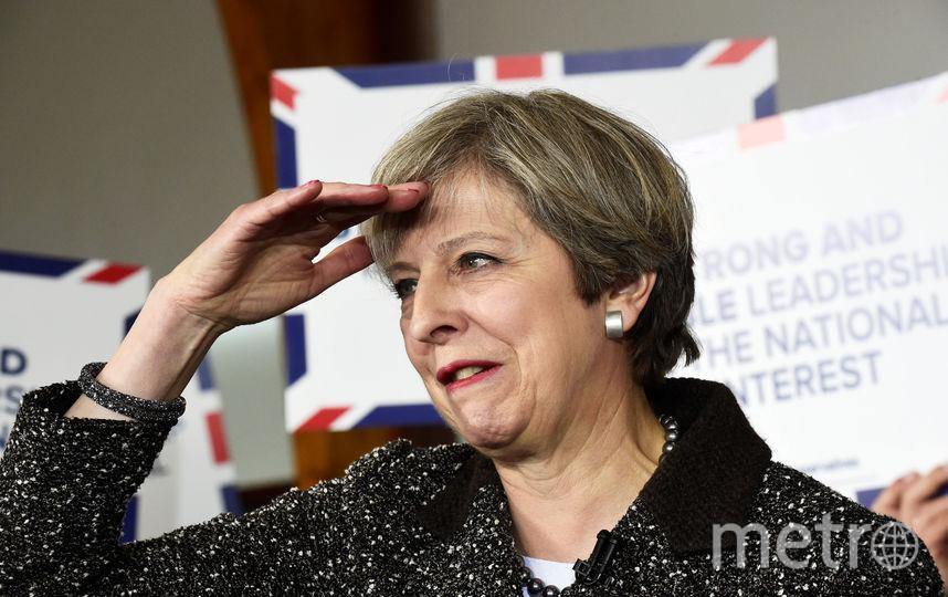 Тереза Мэй оговорилась во время речи. Фото Getty