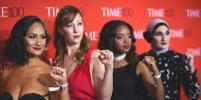 Звёзды показали декольте на гала-вечере Time 100: фото с красной дорожки
