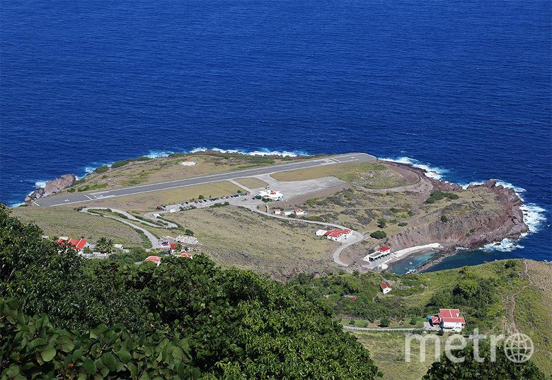 Аэропорт Хуанчо-Ираускин, Саба. Фото wikipedia.org.
