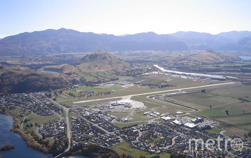 Аэропорт Квинстаун, Новая Зеландия. Фото wikipedia.org.