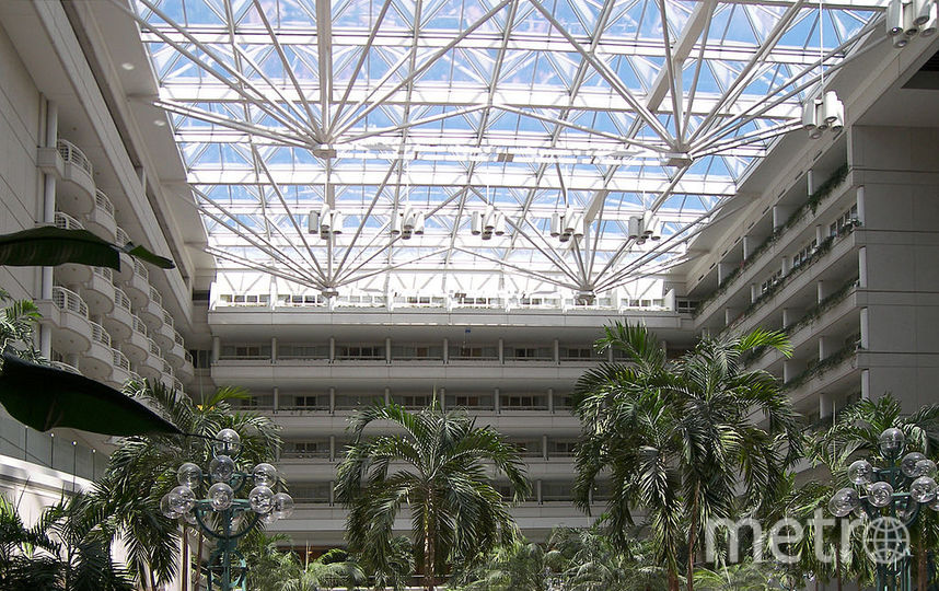Международный аэропорт Орландо, США. Фото wikipedia.org.