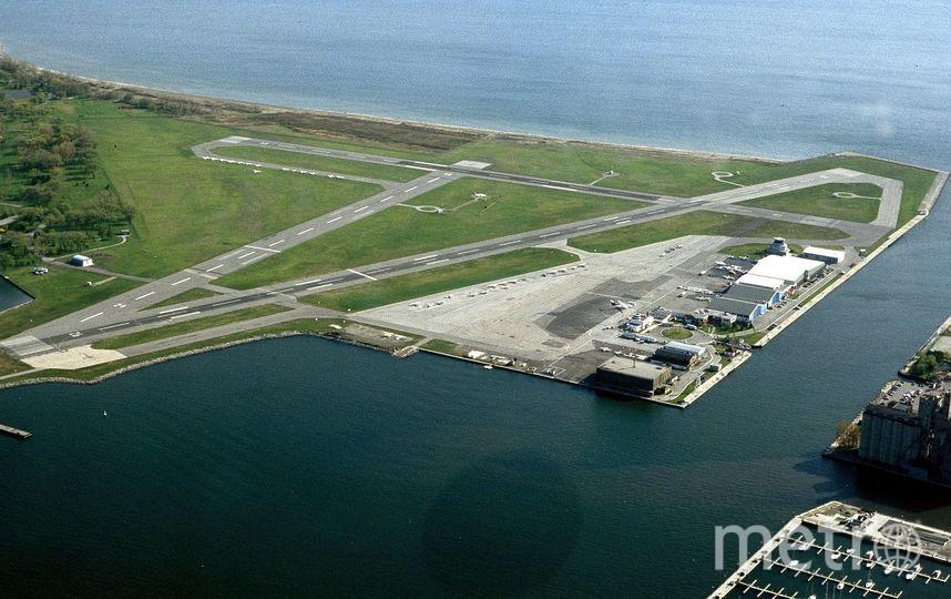 Аэропорт Билли Бишоп Торонто Сити, Канада. Фото wikipedia.org.