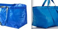Balenciaga скопировала синюю сумку из Ikea по 50 рублей и продает за $2150