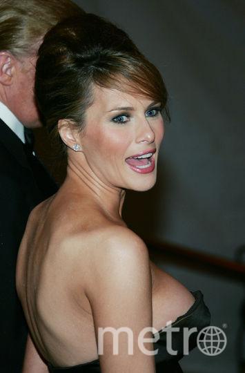Мелания Трамп. 2005 год. Фото Getty