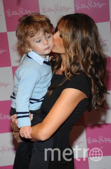 Мелания Трамп с сыном. 2008 год. Фото Getty