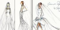 В чем пойдет под венец вторая Миддлтон: эскизы свадебного платья Пиппы обсуждают в сети