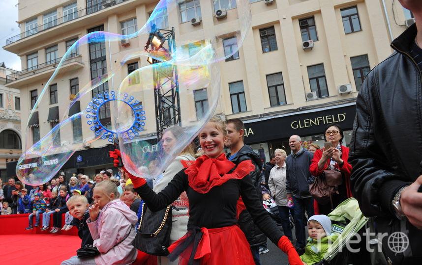 Счастливые россияне (архивное фото). Фото Василий Кузьмичёнок