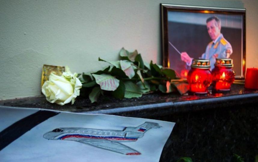 Акция памяти жертв крушения Ту-154. Фото AFP