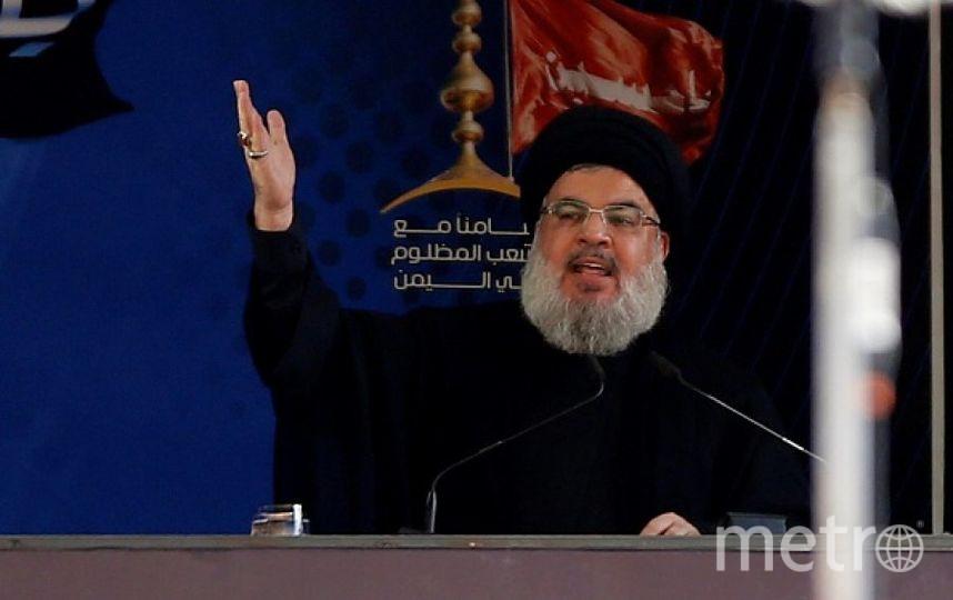 Лидер Хезболлы Хасан Насрулла. Фото Getty