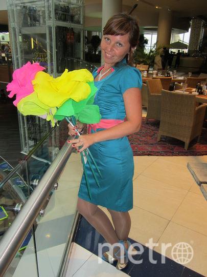 Мое счастливое платье, в нем я чувствую себя на высоте куда бы не пошла в нем). Фото Ольга Андронова