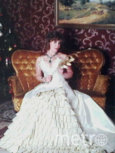 """В этом платье я стала одной из победительниц конкурса и попала на обложку журнала """"Бон Прикс!"""". Фото Алевтина Иванова."""