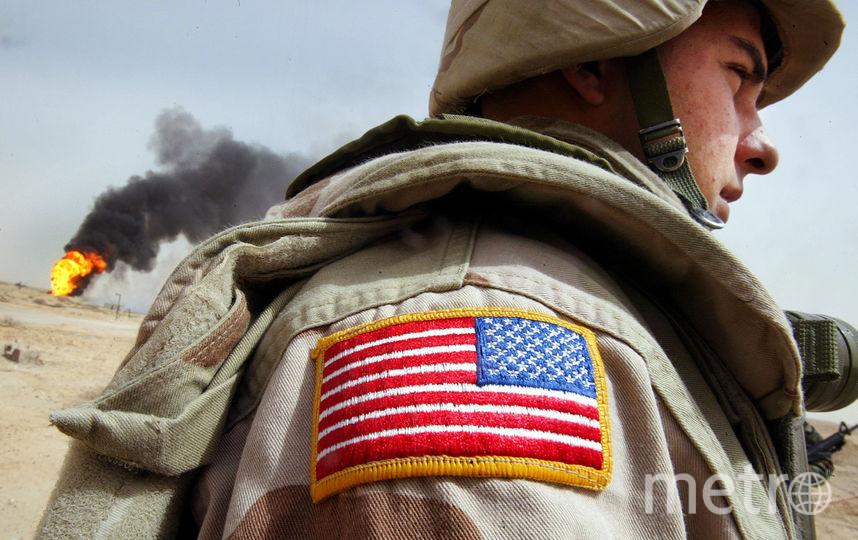 Американский военный. Фото Getty