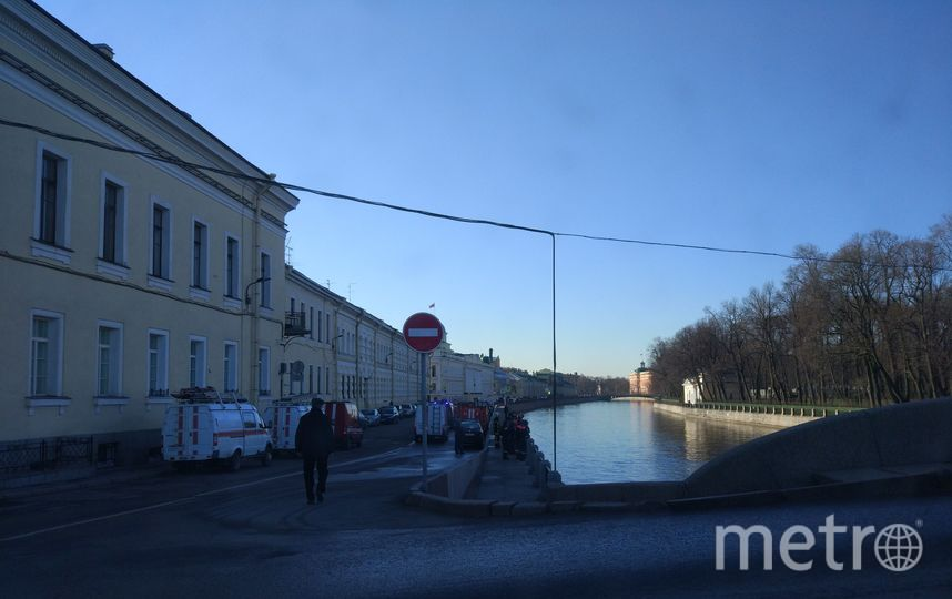 Фото с места происшествия. Фото vk.com