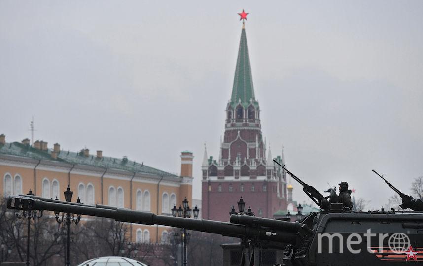 В Москве прошла первая репетиция парада Победы на Красной площади. Фото AFP
